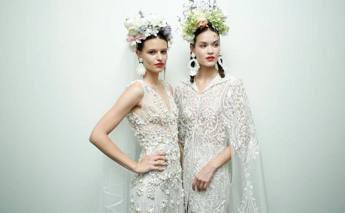 El diseñador de las celebrities, Naeem Khan, participa en Barcelona Bridal Fashion Week