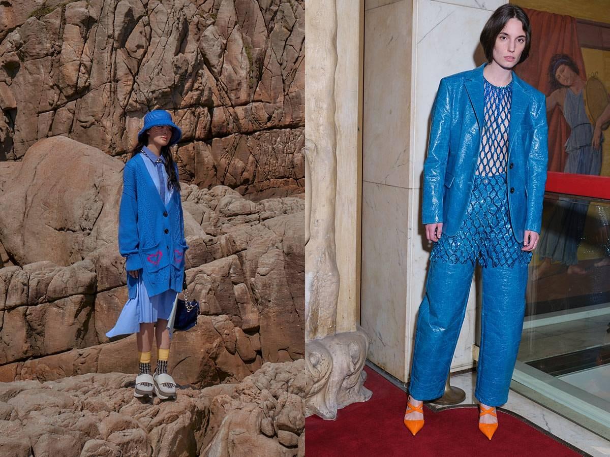 Visto en la pasarela: los colores Pantone FW21 de la Semana de la Moda de Londres