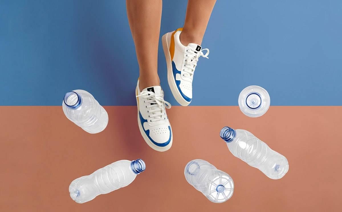 Hechas de botellas de plástico recicladas y de maíz: así son (o serán) las nuevas Kumi Sneakers