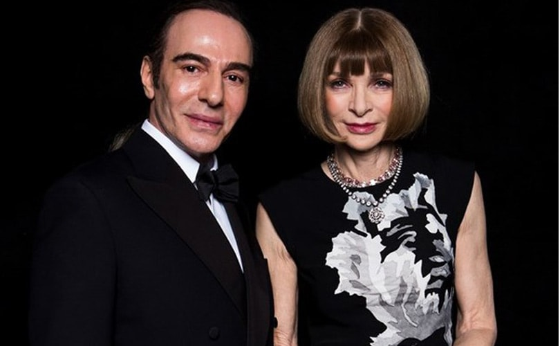 Anna Wintour redime a Galliano