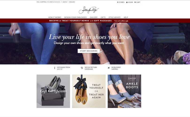 Nordstrom se une a la serie B de financiación para Shoes of Pray