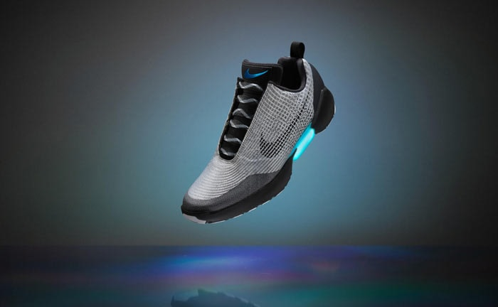 Nike pondrá a la venta a fin de año las zapatillas que se atan solas