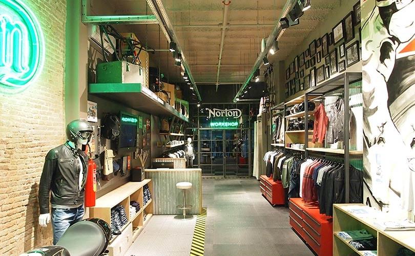 Norton Clothing elige Barcelona para abrir su primera tienda a nivel mundial