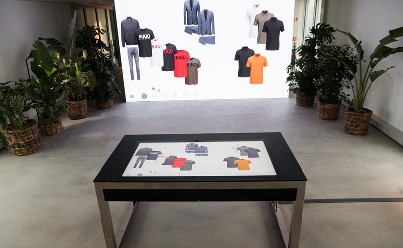 Hugo Boss lanza un showroom digital