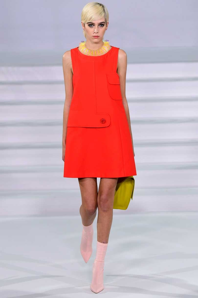Visto en pasarela: Colores de moda claves para SS2018