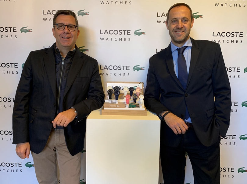 LACOSTE WATCHES SECONVIERTE EN EL RELOJ OFICIALDEL WORLD PADEL TOUR