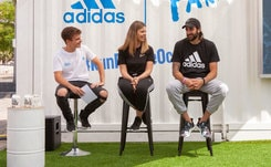 Ricky Rubio presenta en Barcelona la iniciativa Run for the Oceans de Adidas