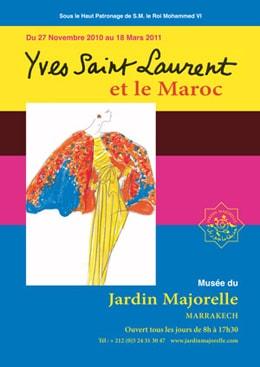 44 creaciones de YSL en Marrakech